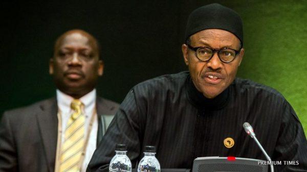Buhari at AU Summit