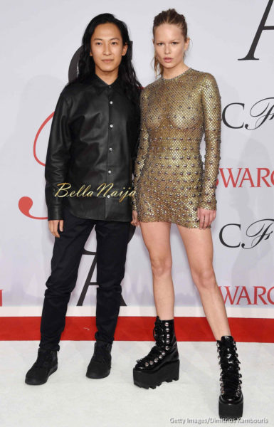 Alexander Wang and Anna Ewers