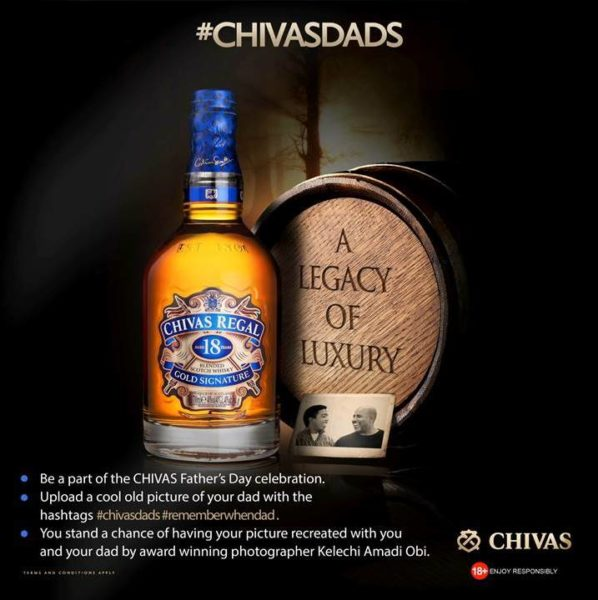 Chivas Advertorial Artwork