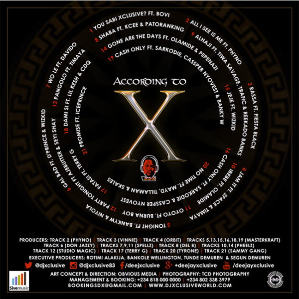 DJ Xclusive - According to X - Back - BellaNaija - June - 2015