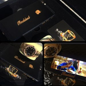 Davido-June 2015-rolex and iphone 2