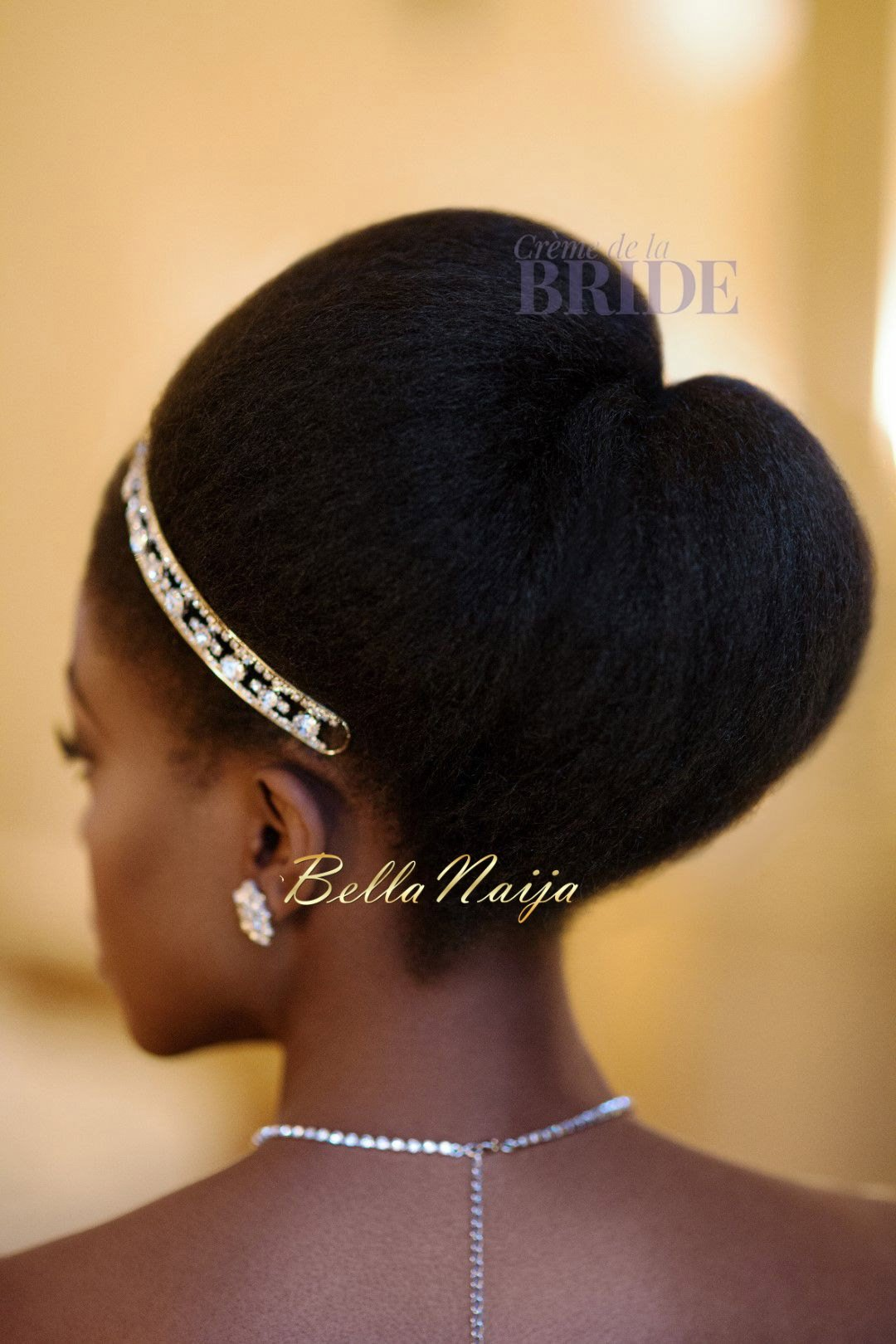 Dionne Smith Natural Hair Bride Inspiration  - Bellanaija - June2015013