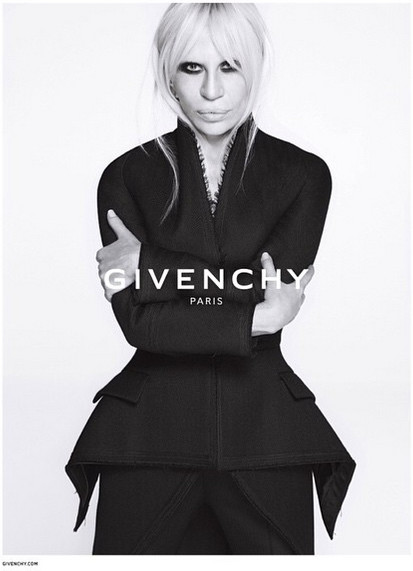 Donatella Versace for Givenchy FW15-16 Campaign