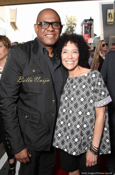 Forest Whitaker and Stephanie Allain