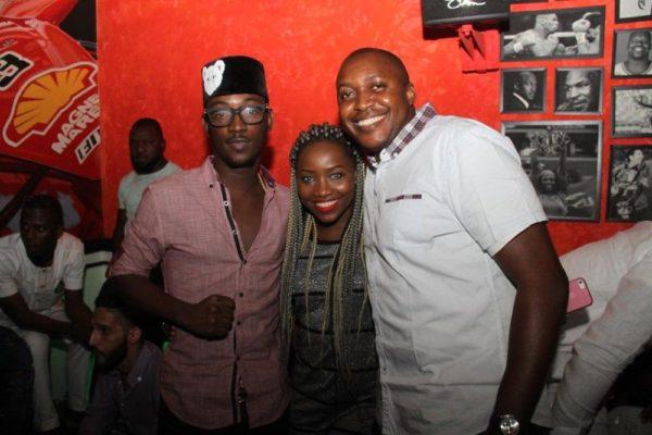 Dammy Krane, Evelle & Elvis Daniel (Head, Youth Segment, Etisalat Nigeria)