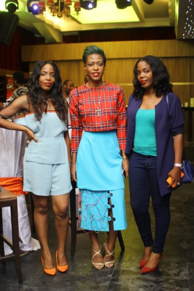 Ezinne Chinkata with Sylivia and Olivia Enekwe