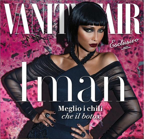 Iman for Vanity Fair Italia - BellaNaija - June2015002