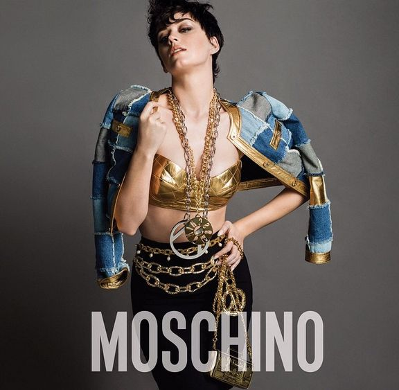 Katy Perry as the New Face of Moschino - BellaNaija - June2015