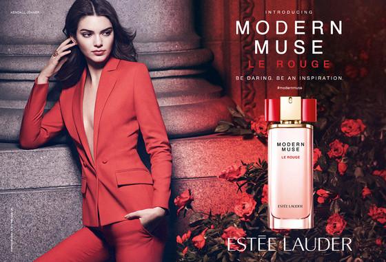Kendall Jenner for Estee Lauder Ad - BellaNaija - June2015