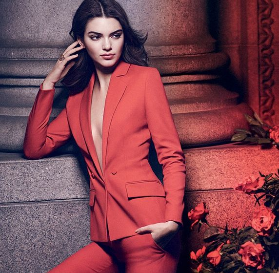 Kendall Jenner for Estee Lauder Ad - BellaNaija - June2015001