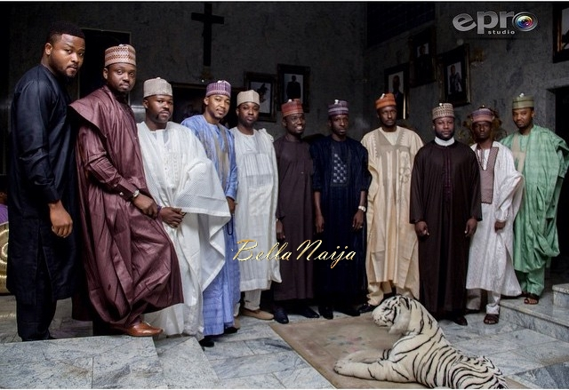 Khadijah Ahmadu Ali and Prince Abdulmalik Ogohi Wedding 18