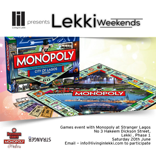 Lekki Weekends Games event - Colored