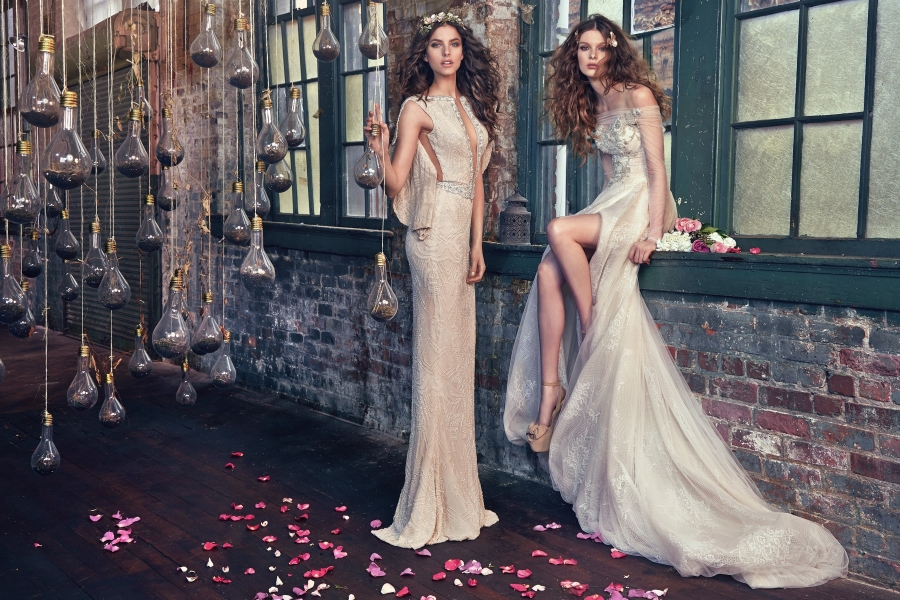 Les Reves Bohemiens-Galia Lahav Spring 2016 Collection on BellaNaija-Aria & Gemma