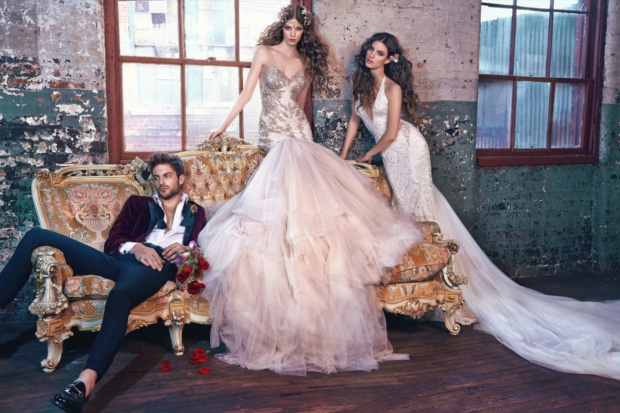 Les Reves Bohemiens-Galia Lahav Spring 2016 Collection on BellaNaija-Elsa & Jewel
