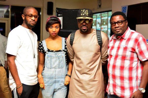 [L-R] Bolaji Kekere-Ekun, Temi Dollface, DJ Caise & Emmanuel Edi-Bala (Pernod Ricard)