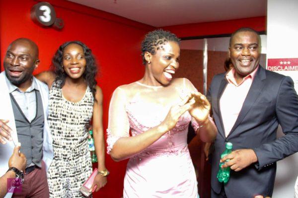 Blessing Egbe, Frank Osodi, Michael Egbe and Ngozi Oliway