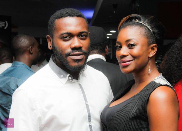 Kiki Omeili and Deyemi Okolanwon