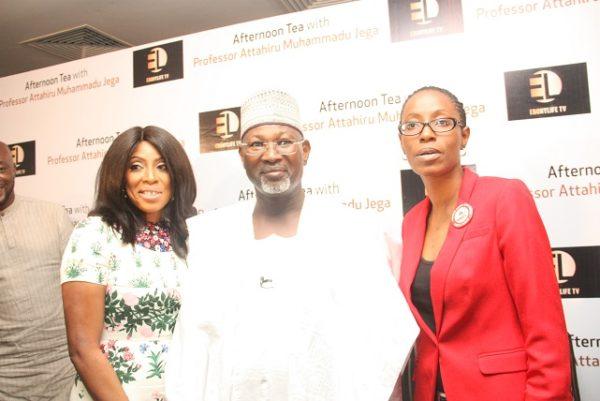 Mo Abudu, Professor Jega and Yemi Adamolekun