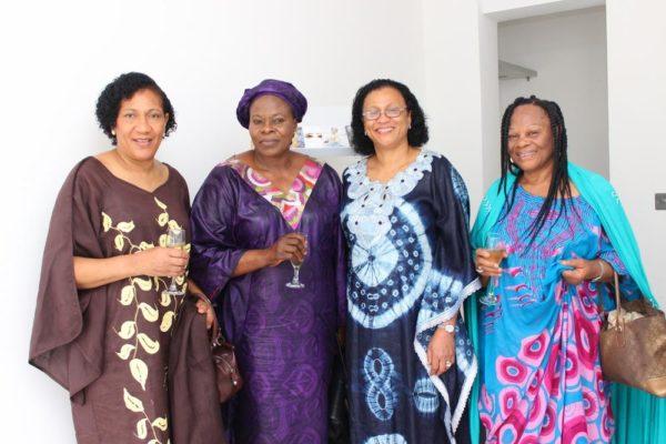 Mudafiat Brown, Alhaja Hassan, Harriet Agusto