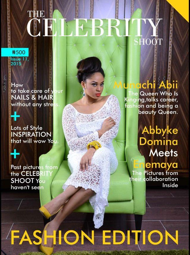 Munachi Abii for The Celebrity Shoot - Bellanaija - June2015001
