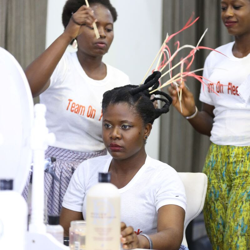 Naija Hair Can Grow Salon Day Out 2015 - BellaNaija  - June2015009