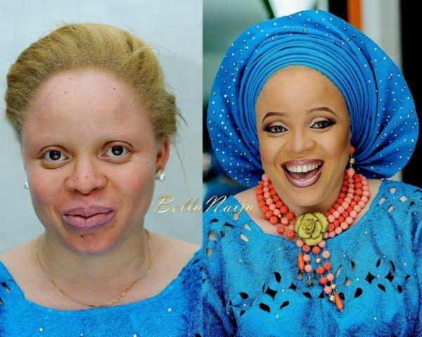 Nigeria-Albino Bridal Beauty Shoot iPosh Looks