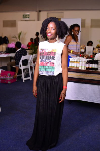 Nibi Lawson (Founder of The Kinky Apothecary & Organiser of The Nigerian Natural Hair & Beauty Show)