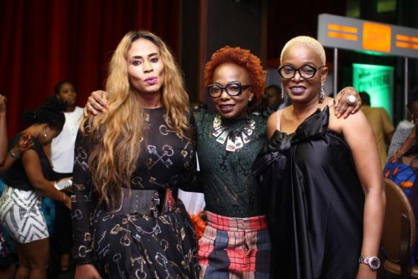 Nkiru Anumudu with Grace & Ruth Osime