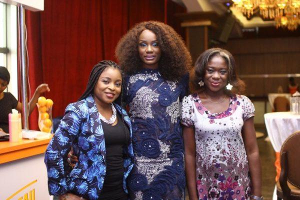 Ono with Madam Solange & Ifeoma Meze Ononye