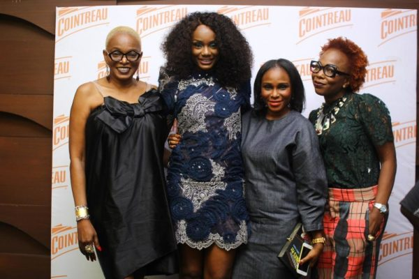Ono with Ruth Osime, Lisa Folawiyo & Grace Osime