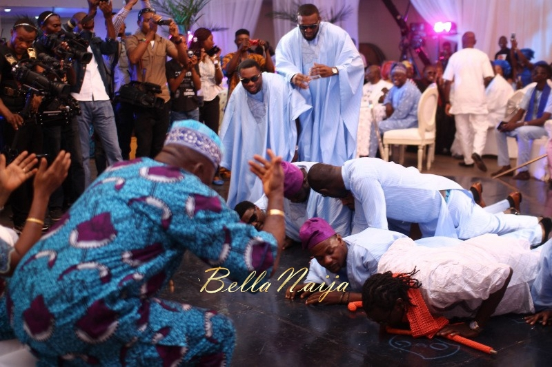 Osas Ighodaro & Gbenro Ajibade's Traditional Wedding in Benin - June 2015 -003