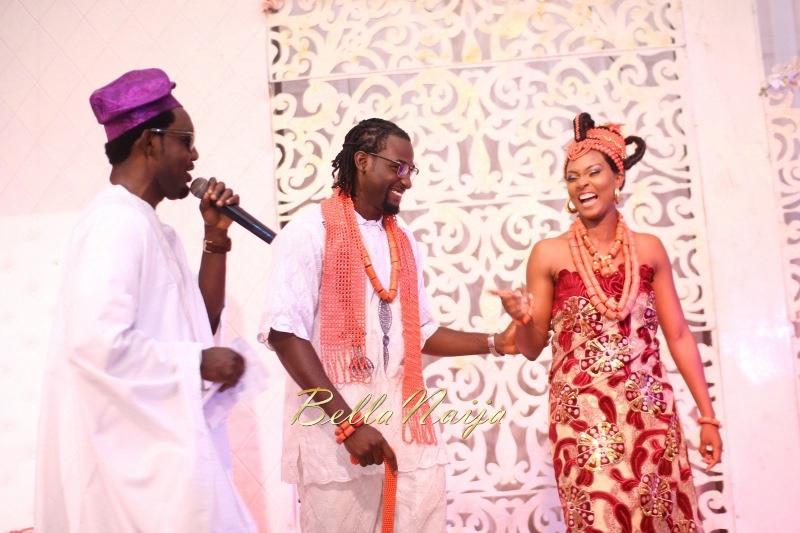 Osas Ighodaro & Gbenro Ajibade's Traditional Wedding in Benin - June 2015 -007
