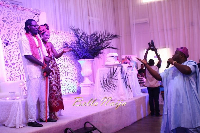 Osas Ighodaro & Gbenro Ajibade's Traditional Wedding in Benin - June 2015 -012