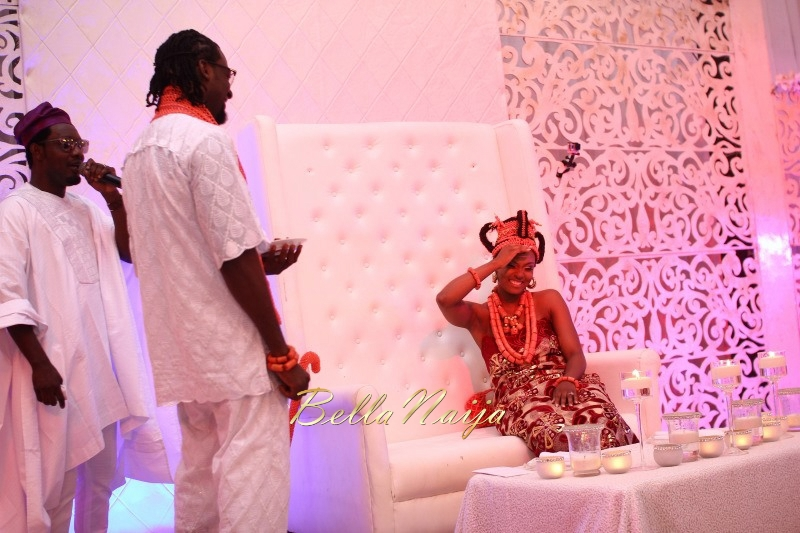 Osas Ighodaro & Gbenro Ajibade's Traditional Wedding in Benin - June 2015 -014