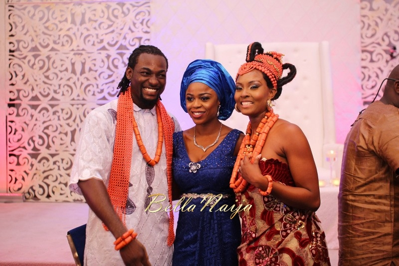 Osas Ighodaro & Gbenro Ajibade's Traditional Wedding in Benin - June 2015 -016