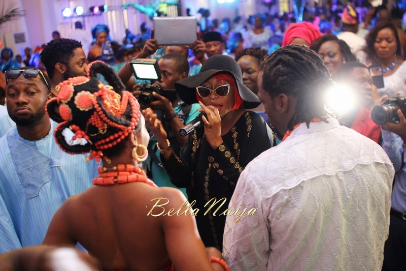 Osas Ighodaro & Gbenro Ajibade's Traditional Wedding in Benin - June 2015 -022