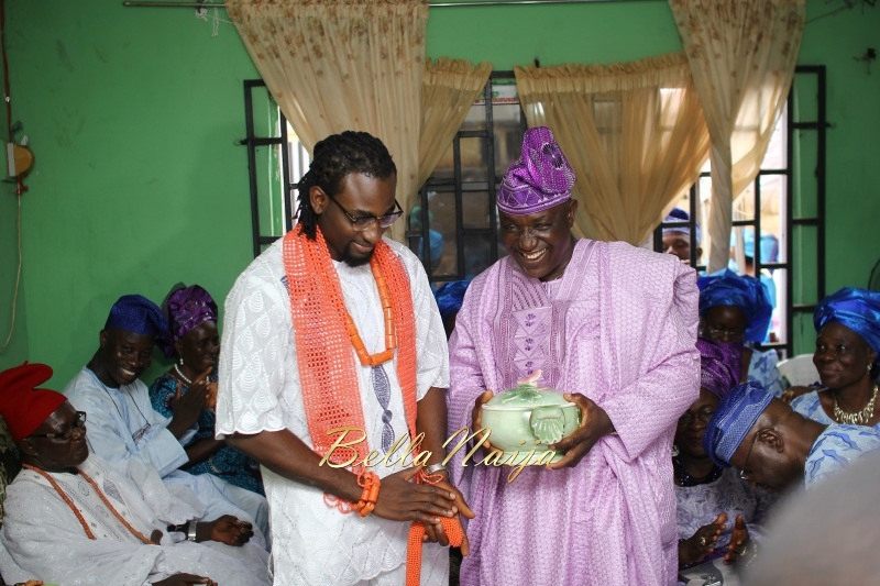 Osas Ighodaro & Gbenro Ajibade's Traditional Wedding in Benin - June 2015 -036