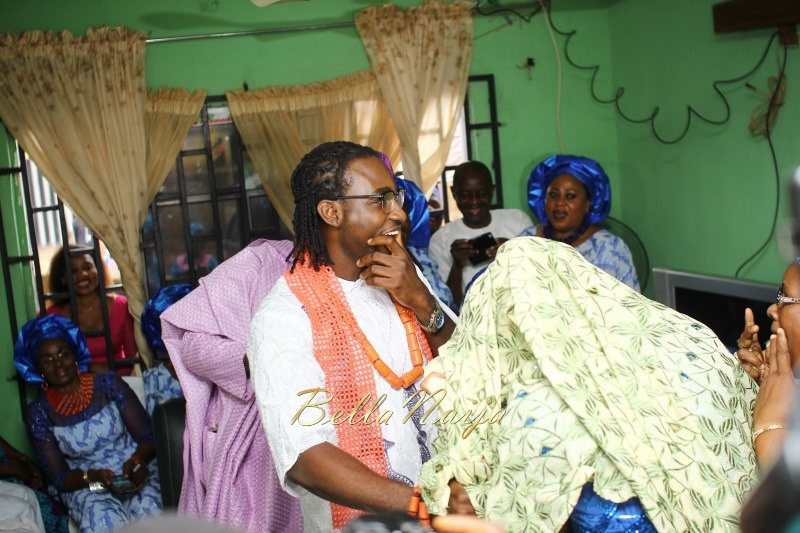 Osas Ighodaro & Gbenro Ajibade's Traditional Wedding in Benin - June 2015 -038