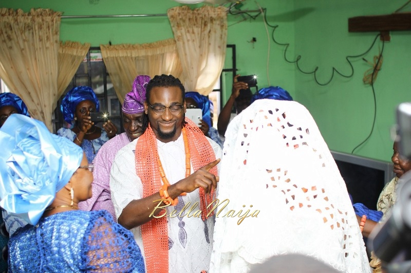 Osas Ighodaro & Gbenro Ajibade's Traditional Wedding in Benin - June 2015 -041