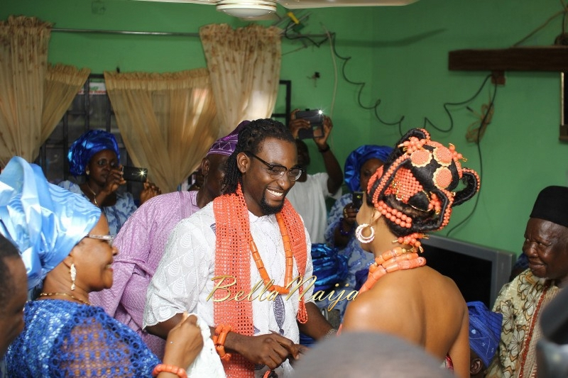 Osas Ighodaro & Gbenro Ajibade's Traditional Wedding in Benin - June 2015 -042