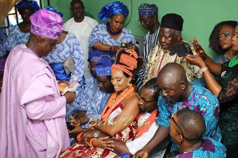 Osas Ighodaro & Gbenro Ajibade's Traditional Wedding in Benin - June 2015 -048