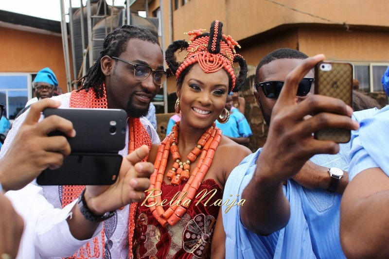Osas Ighodaro & Gbenro Ajibade's Traditional Wedding in Benin - June 2015 -051