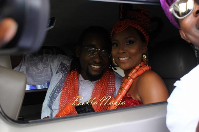 Osas Ighodaro & Gbenro Ajibade's Traditional Wedding in Benin - June 2015 -053
