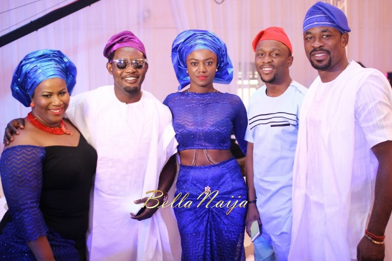 Osas Ighodaro & Gbenro Ajibade's Traditional Wedding in Benin - June 2015 -055