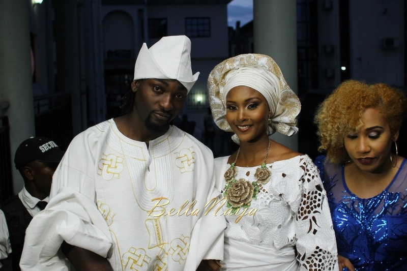 Osas Ighodaro & Gbenro Ajibade's Traditional Wedding in Benin - June 2015 -066