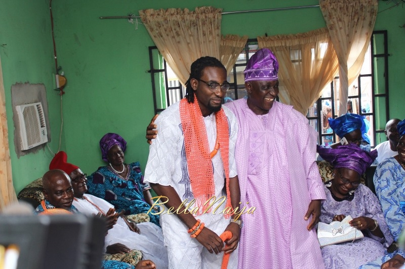 Osas Ighodaro & Gbenro Ajibade's Traditional Wedding in Benin - June 2015 -096