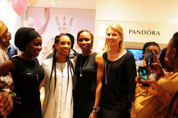 Dija & Charlotte Obidairo (Managing Director, Pandora Franchise, West Africa)