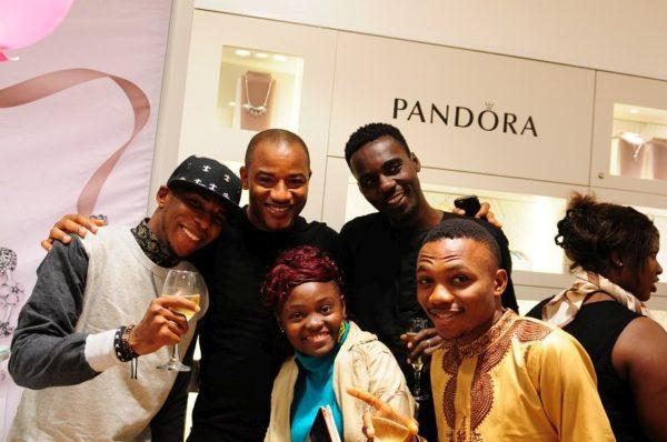 [L-R] Romeo Ofamiu, Daphine Asu, Samuel Ajeyi, Uzor Ogloba, Big Mo