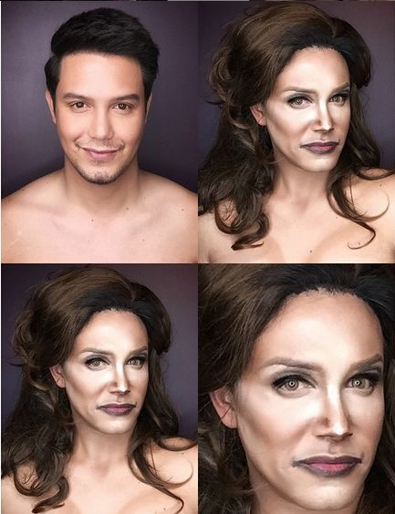 Paolo Ballesteros Makeup Transformations - BellaNaija - June 2015