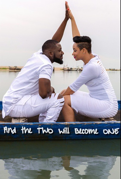Pokello and Elikem pre wedding 1